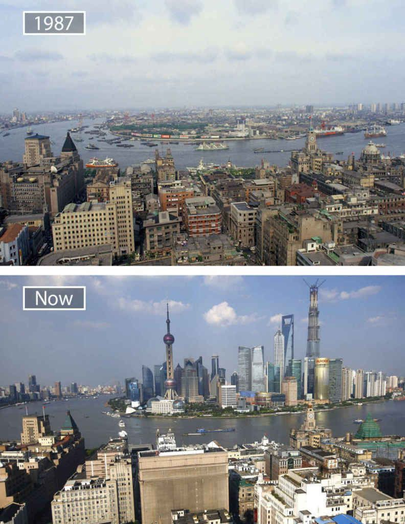 before after shanghai